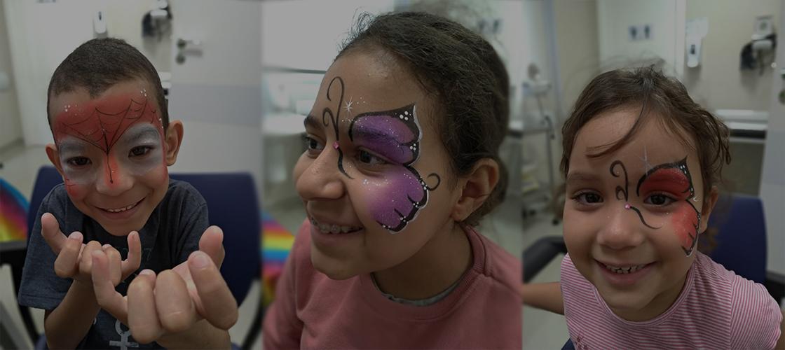Ação divertida do dia das Crianças no Hospital Previna anima pacientes