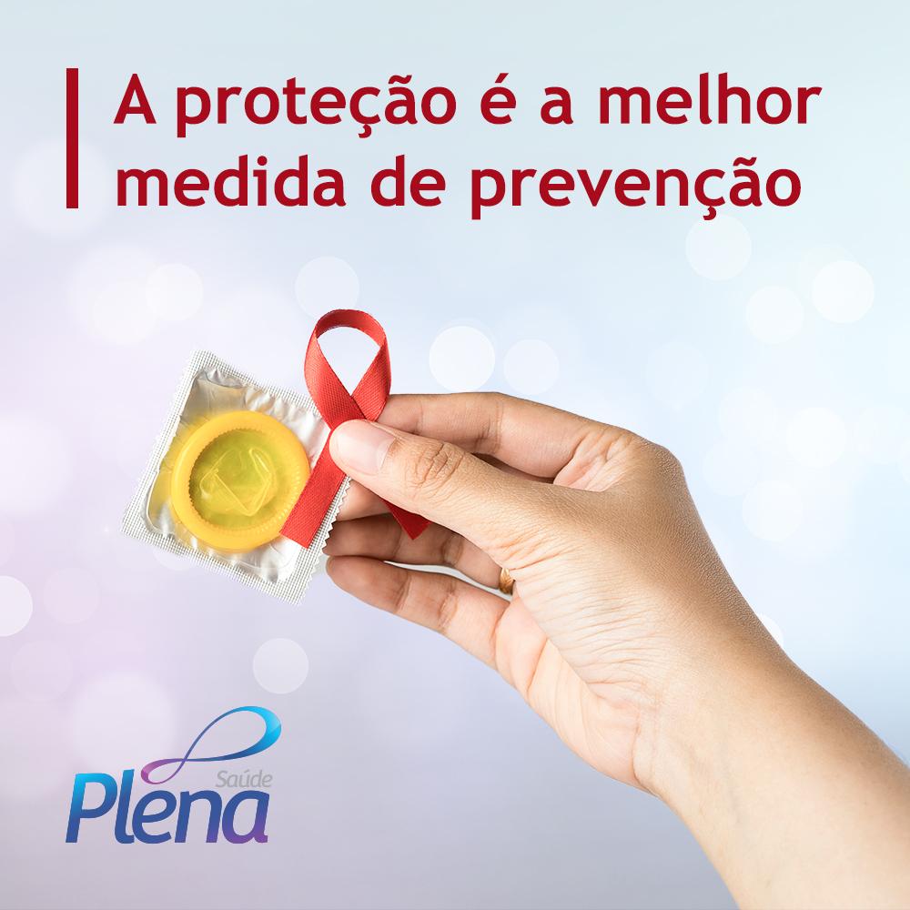 Mês Dezembro vermelho luta contra Aids