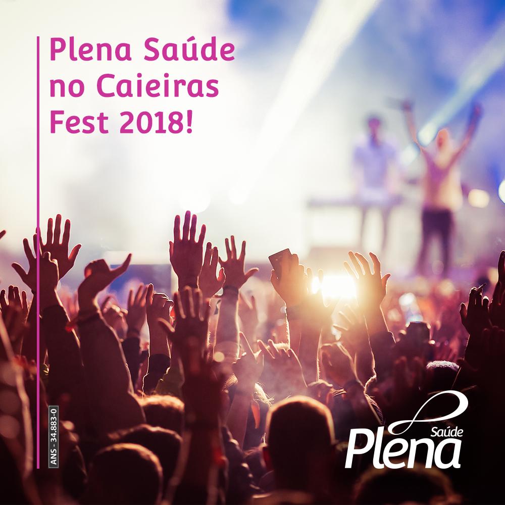 Plena Saúde no Caieiras Fest 2018!