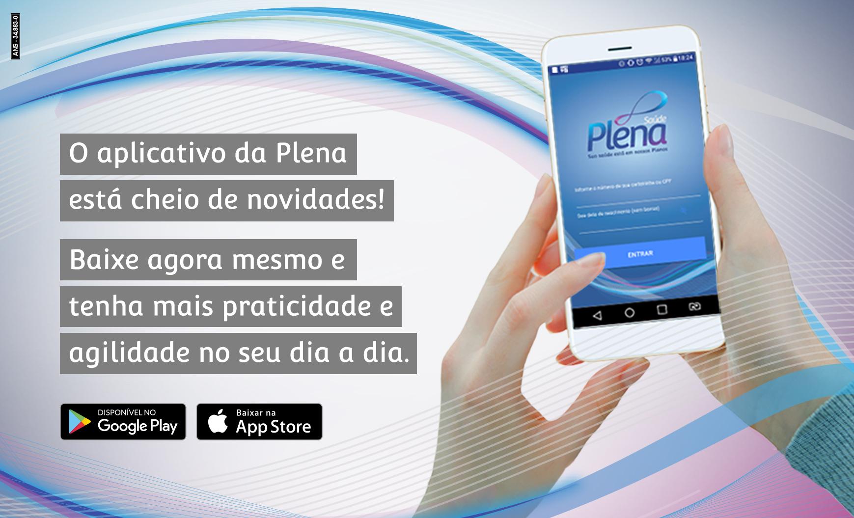 Plena Saúde apresenta novas funcionalidades em seu app