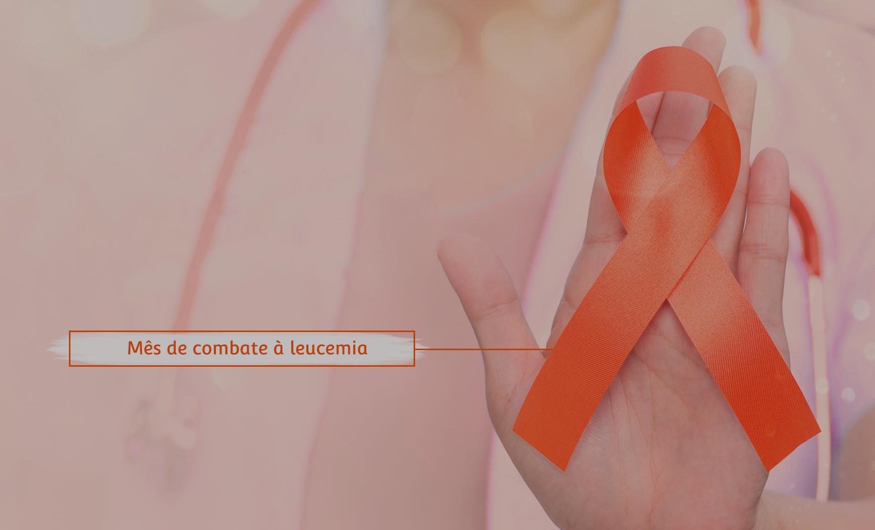 Fevereiro laranja: mês de combate à leucemia