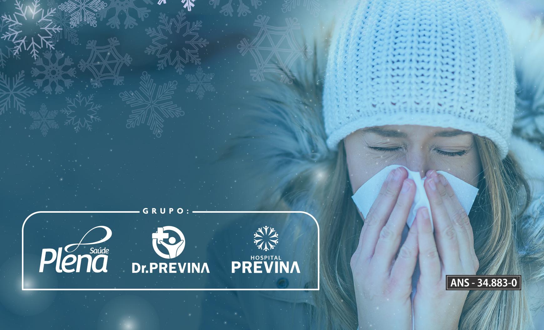 Como evitar as doenças em épocas frias!
