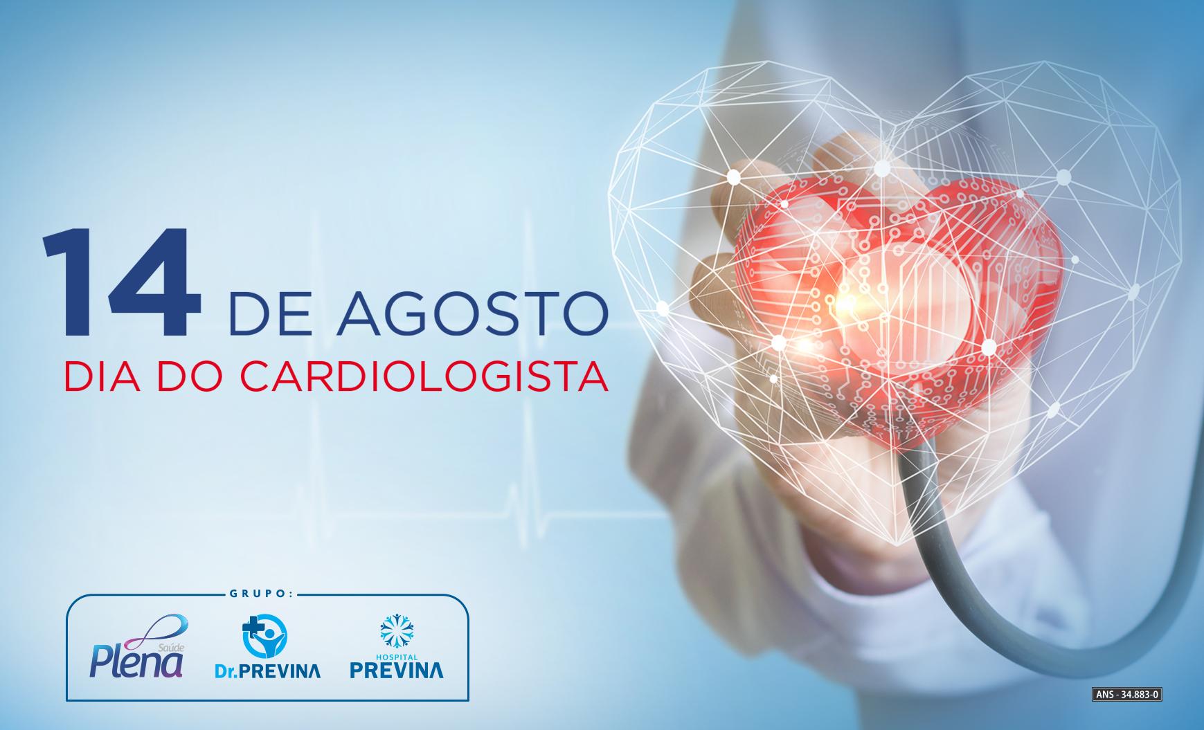 14 de agosto – Dia do Cardiologista