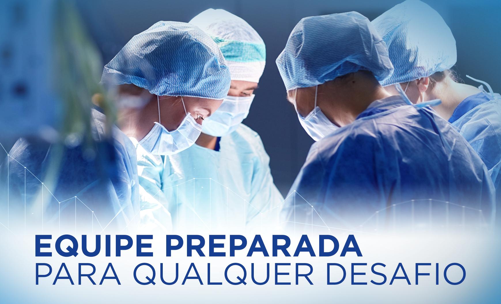 Equipe do Hospital Previna Franco da Rocha realiza procedimento cirúrgico inédito na unidade
