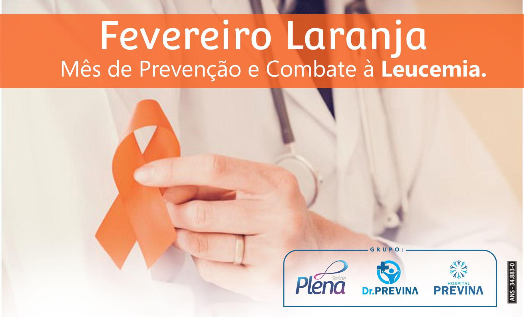 Fevereiro Laranja – Mês de prevenção e combate à Leucemia