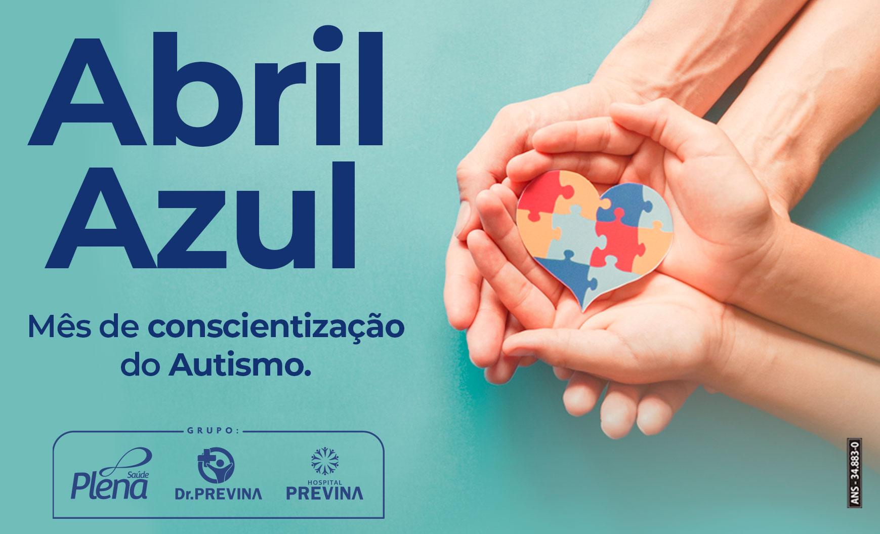 Abril Azul – Mês de Conscientização do Autismo