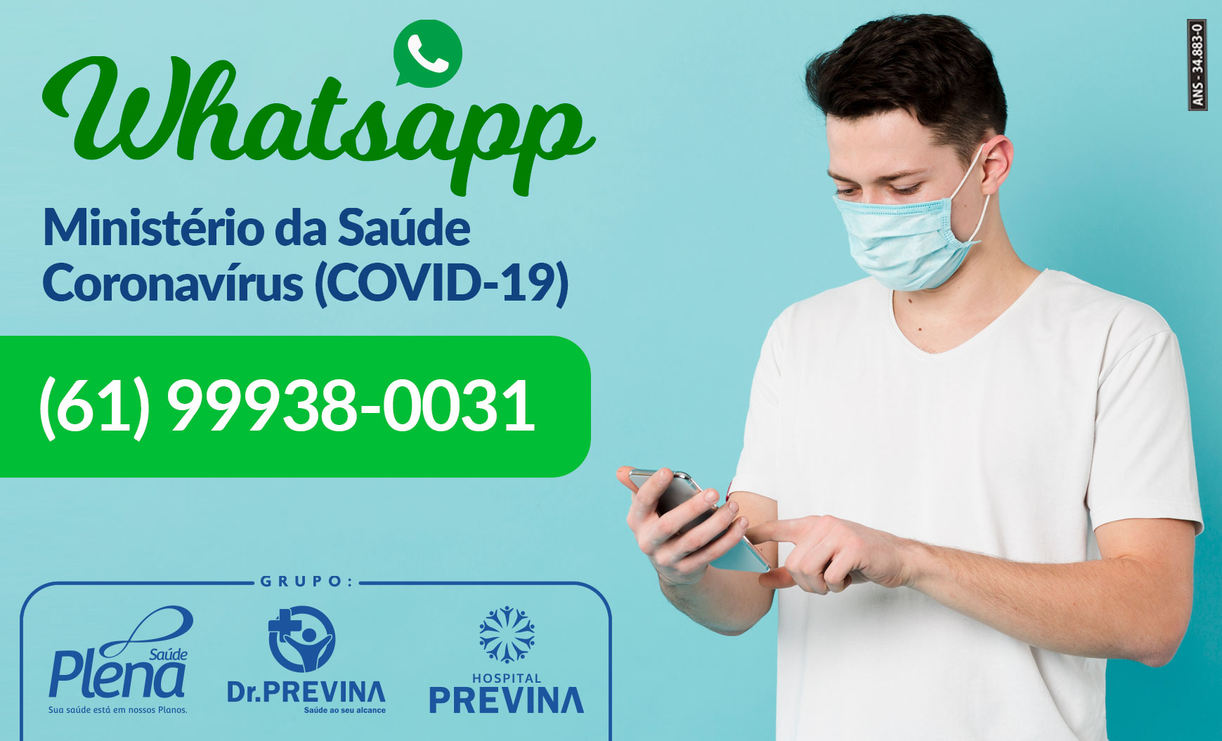 Whatsapp Ministério da Saúde – Coronavírus