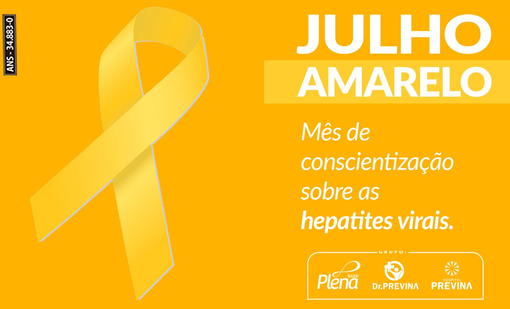 Julho Amarelo – Mês de Conscientização Sobre Hepatites Virais