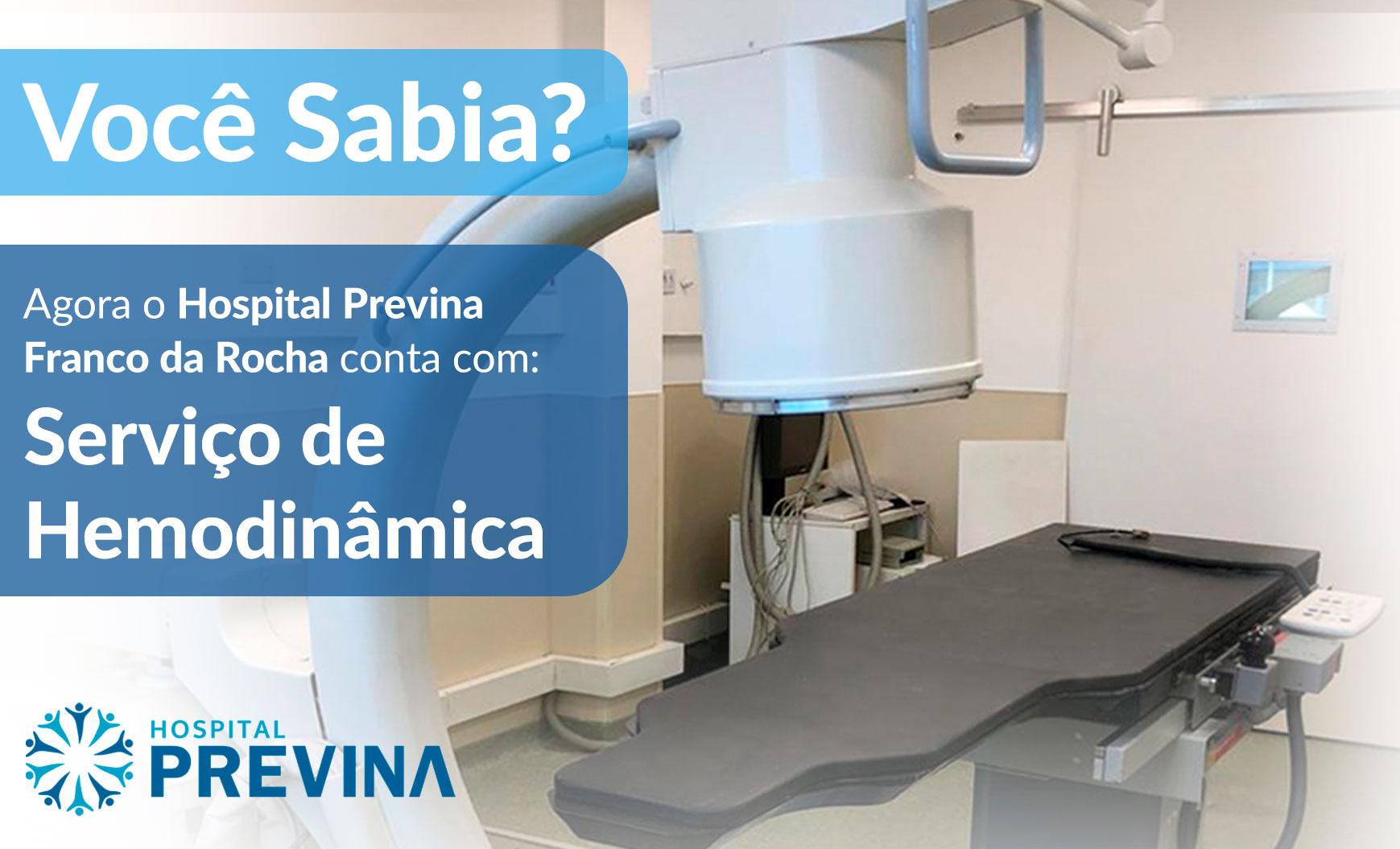 Serviço de Hemodinâmica – Hospital Previna Franco da Rocha
